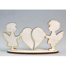 Ангелочки соединяющие сердца